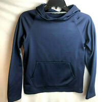 Under Armour Boys Pullover Hoodie Large YLG Youth Blue Loose Fit