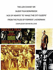 LON CHANEY SR SILENT FILM SCRAPBOOK FJ ACKERMAN FILES CLIPPINGS PHANTOM OPERA+