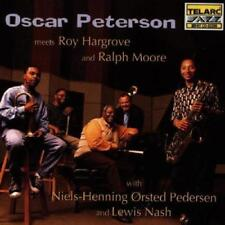 Oscar Peterson - Meets Roy Hargrove And Ralph Moore (NEW CD)
