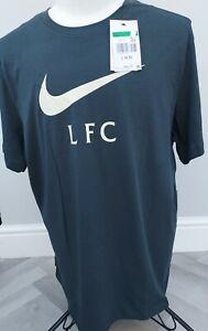 GENUINE  MEN'S  NIKE  Liverpool FC  /T-Shirt XL / BNWT/ SUPERB / Grey