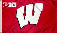 Wisconsin Badgers Big 10 Flag 3 X 5