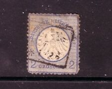 GERMANY....  1872  2gr blue used, type A