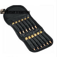12 Round Rifle Hunting Cartridge Padded Holder Carrier Ammo Bag for .30-06 .410