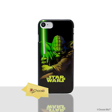 "Case/cover Star Wars Apple iPhone 6 6s 4.7"" Screen Protector Plastic Yoda Fight"