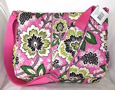 Vera Bradley Messenger Baby Diaper Bag with Changing Pad - Priscilla Pink - Nwt
