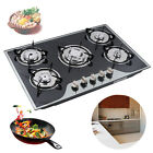 """30"""" Gas Cooktop Built in Gas Stove 5 Burners Gas Stoves LPG/NG Gas Cooker NEW photo"""
