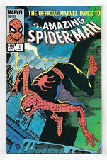 Official Marvel Index To The Amazing Spider-Man #1 Very Fine