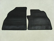 Fiat Fiorino 2008-on Fully Tailored Deluxe RUBBER Car Mats in Black