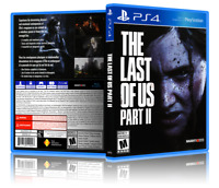 The Last of Us: Part II - ReplacementPS4 Cover and Case. NO GAME!!