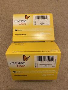 2x freestyle Libre Glucose Sensors