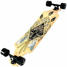 Atom Drop Deck Longboard (39 Inch) Maple/Bamboo Hybrid Laminate, Brand New
