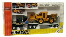 Joal Compact, Ref. 322, Die Cast, Us Truck Trailer & Snow Plough Made In Spain