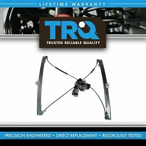 TRQ Power Window Regulator w/ Motor RH  Hand Passenger Side for 01-03 Caravan
