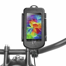Samsung GALAXY s5 MINI CUSTODIA ROBUSTA IMPERMEABILE CON SUPPORTO BICI MOTO