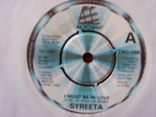 SYREETA-I MUST BE IN LOVE/out the Box Top uk motown 45