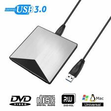 External USB 3.0 DVD RW CD RW Drive DVD Rewriter Burner writer player Laptop PC