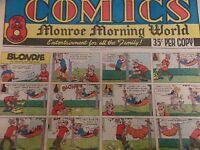 Newspaper Comics July 1977 Blondie, Prince Valiant 060816DBL