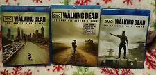 Walking Dead Seasons 1 2 & 3 Blu Ray sets