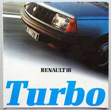 V03840 RENAULT 18 TURBO