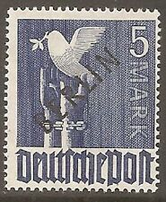 Mint Hinged Berlin Stamps