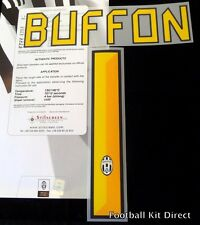 Juventus Buffon 1 2010/11 2011/12 Football Shirt Name/number Set Kit Home