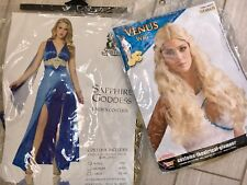 Khaleesi/princess costume & wig. worn once