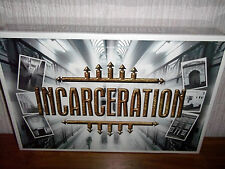 INCARCERATION - BOARD GAME ABOUT PRISON LIFE (2001) - RISK TAKERS - NEW & SEALED