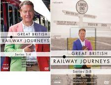 Great British Railway Journeys Series 5 to 8 DVD