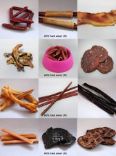 Burns Natural Meat Gluten Free UK Made Dog Treats Full Variety Range Fast Post!