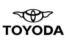 TOYODA TOYOTA Sticker Decal. 200mmW Hilux Prius Suit 4X4 Car Truck JDM Drift.