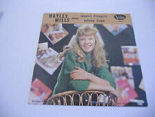 Hayley Mills Jeepers Creepers/Johnny Jingo 45 RPM Buena Vista Records VG+ p/s