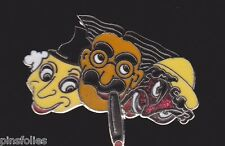 Pin's Folies ** Enamel Badge Demons Marx Brothers Grucho cigar Cinema Movie