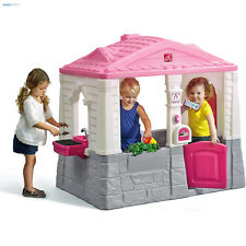 Playhouses For Girls Toddlers Fun Toys Playhouse Kids Play House Outdoor Cottage