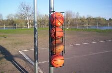 Basketball Butler Deluxe 4-Ball Storage Rack/ Blue Collar Industries USA