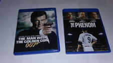 Man with the Golden Gun & The Phenom BlueRay FREE SHIPPING LOWER 48 STATES