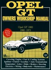 OPEL GT 1900 Coupe (1968 - 1973) propietarios taller Manual