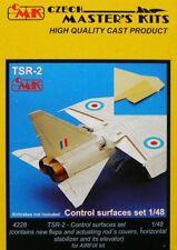 CMK 1/48 TSR-2 Set le superfici di controllo per Airfix # 4228
