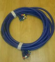 MULTICORE MULTIPAIR STAGE CABLE 8 RCA/PHONO? CABLE DJ PA STAGE STUDIO LIVE 10M