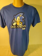 Sonic the Hedgehog SEGA T-Shirt Old School Sega size Large