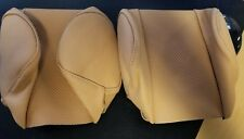 Jaguar XKE Series 3 Headrest Covers Pair Biscuit JEV12R/HCBS