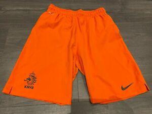 Boys Nike Dri Fit Holland shorts SIZE XL 13 - 15 years orange
