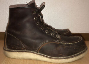 Mens Redwing 8138 Boots Moc Toe Heritage 8 D Work Motorcycle