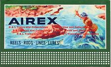 Billboard for Lionel Holder Lionel Airex Fishing Lures Blue Background