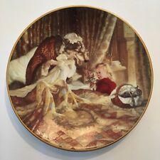 "Vintage 1991 Classic Fairy Tales Little Red Riding Hood Ltd Ed Plate 8.5"""