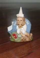 TOM CLARK museum Carrie nurse gnome cairn studio rare figurine #3 signed