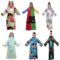 Disney Childrens Boys Girls Character Sleeved Fleece Snuggle Blanket