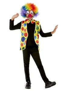 Child Circus Clown Multicoloured Fancy Dress Accessories Book Week Items