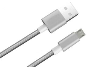 Pack of 3 High Quality Micro USB FAST Data Charger Cable All Samsung Android Set