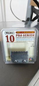 "Wahl NEW & IMPROVED Pro Series PROSeries CLIPPER # 10 BLADE - 1/8"" cut medium"