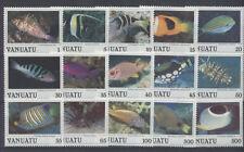 POISSON Vanuatu 15 val de 1987 ** FISH FISCH PESCE